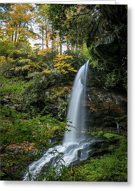 Early Autumn At Dry Falls Greeting Card