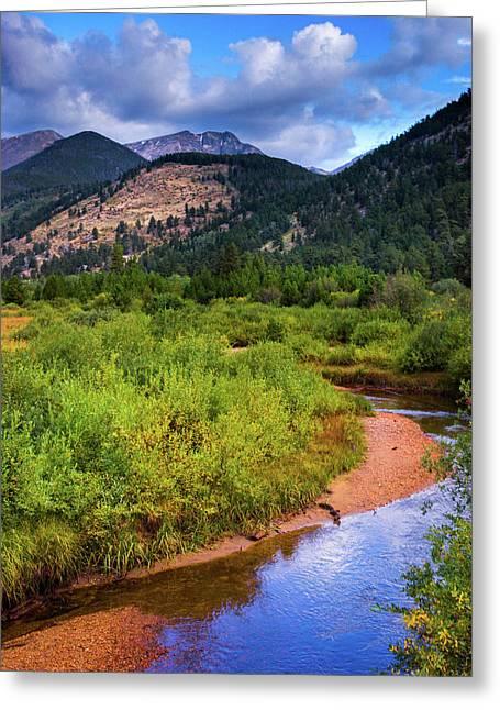 Greeting Card featuring the photograph Early Autumn In Colorado by John De Bord