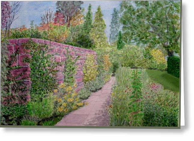 Early Autumn - Ness Gardens, Wirrral Greeting Card