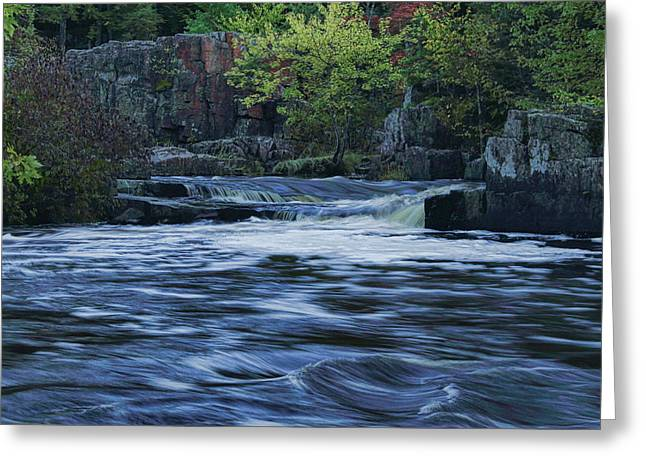 Early Fall At Eau Claire Dells Park Greeting Card