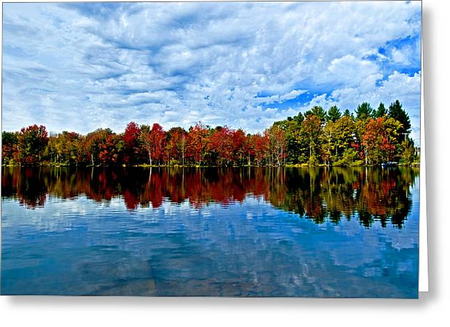 Early Fall Colors. New York Greeting Card