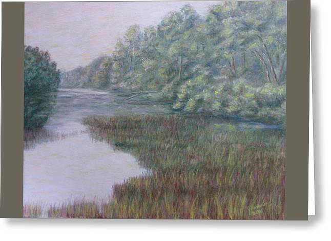 Early Fall Serenity Greeting Card by Joann Renner
