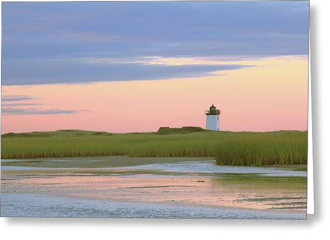 Early Light At Wood End Light Greeting Card by Roupen  Baker