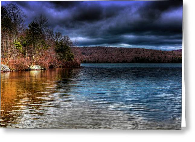 Greeting Card featuring the photograph Early May On Limekiln Lake by David Patterson