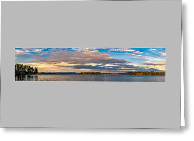 Early Morning At Lake Wentworth Greeting Card