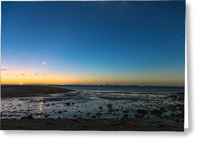 Early Morning Bantayan Starry Sunrise Greeting Card by James BO Insogna