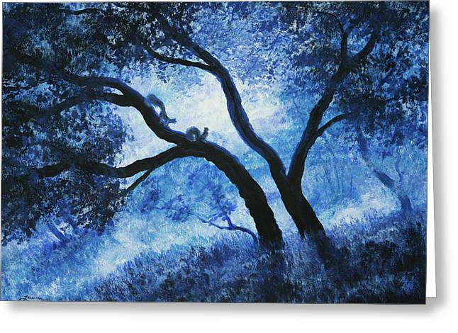 Early Morning Blues At Rancho San Antonio Greeting Card
