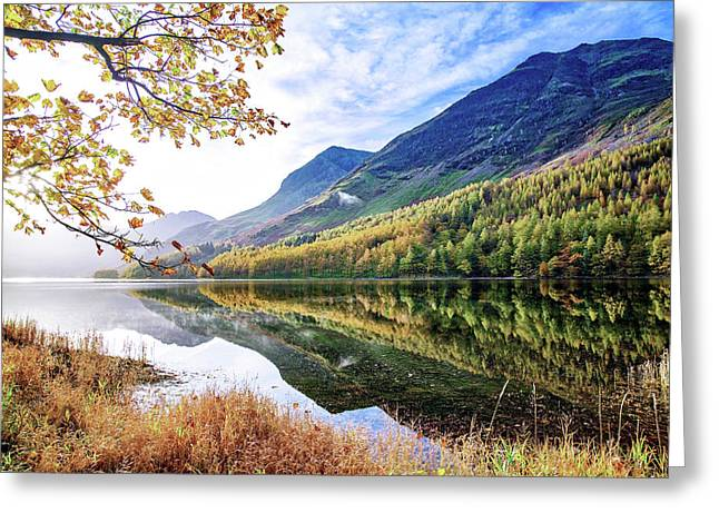 Early Morning Buttermere Greeting Card
