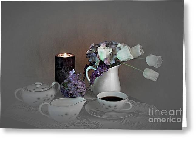 Early Morning Coffee Greeting Card