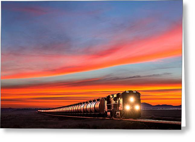 Early Morning Haul Greeting Card by Todd Klassy