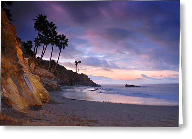 Early Morning In Laguna Beach Greeting Card