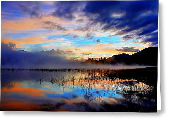 Early Morning On Connery Pond 2 Greeting Card by Tony Beaver