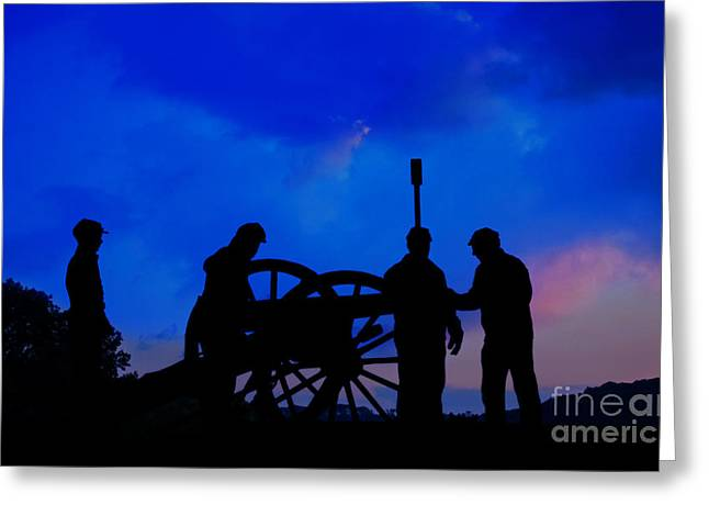 Early Morning On Little Round Top Greeting Card