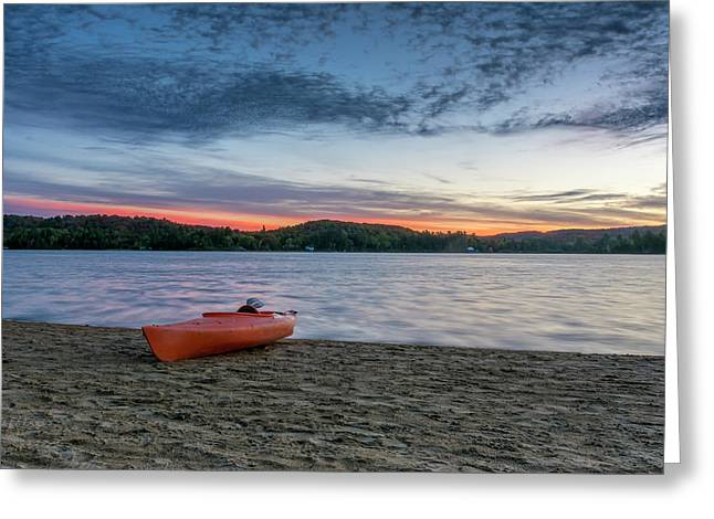 Early Morning On Oxtongue Lake Greeting Card