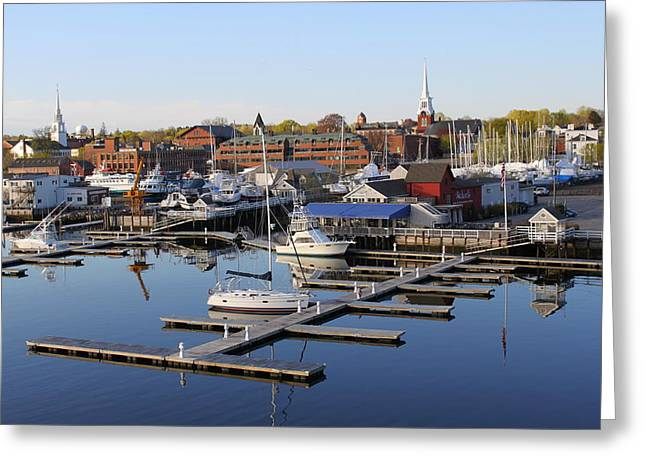 Early Morning On The Merrimack River Greeting Card