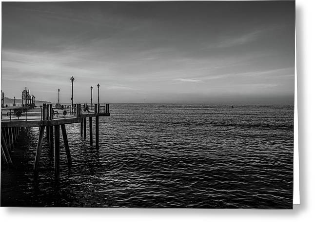 Early Morning Redondo By Mike-hope Greeting Card