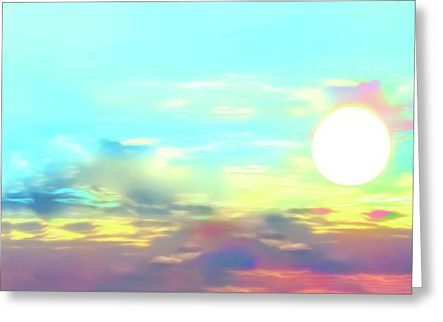 Greeting Card featuring the photograph Early Morning Rise- by JD Mims