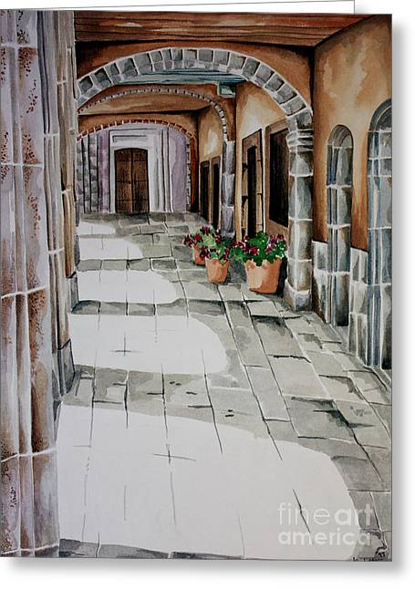 Early Morning San Miguel Greeting Card