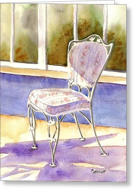 Early Morning Shadows Greeting Card by Marsha Elliott