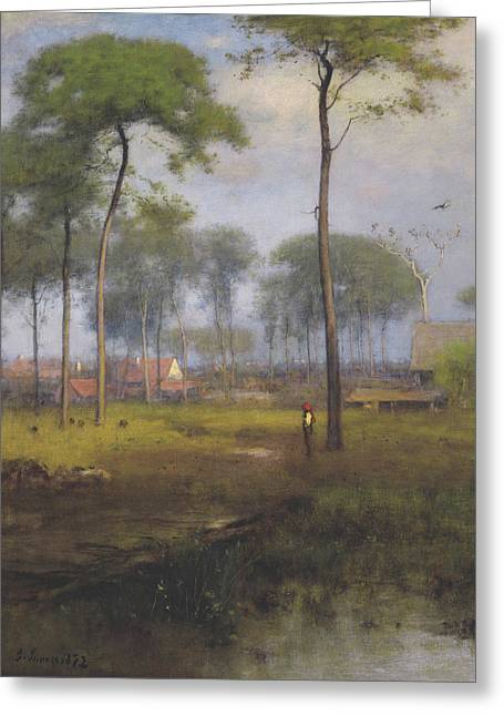 Early Morning, Tarpon Springs Greeting Card by George Inness