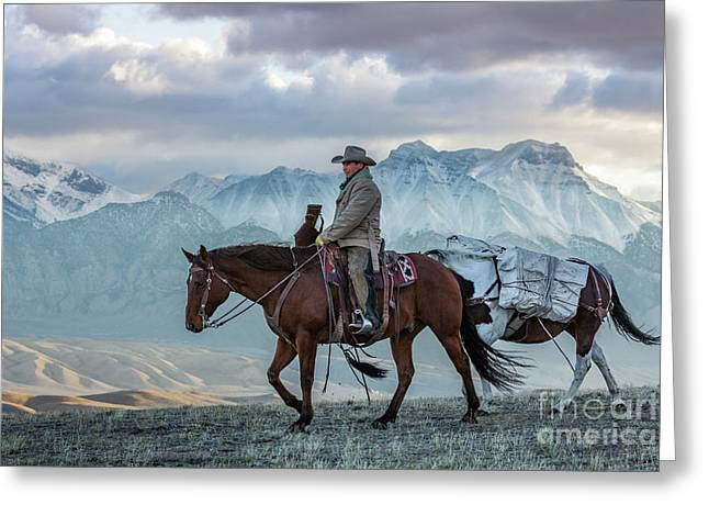 Early October Hunt Wild West Photography Art By Kaylyn Franks Greeting Card