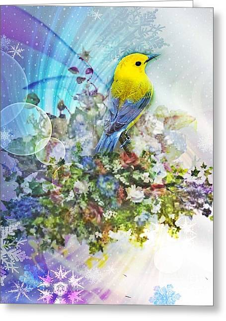 Early Promise Of Spring Greeting Card