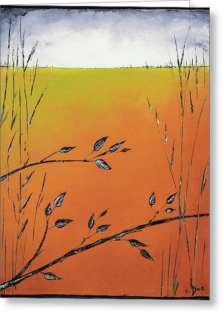 Early Spring  Greeting Card by Carolyn Doe