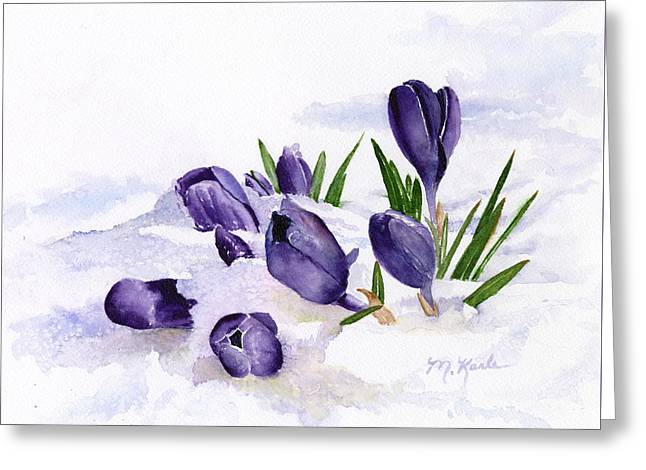 Early Spring In Montana Greeting Card