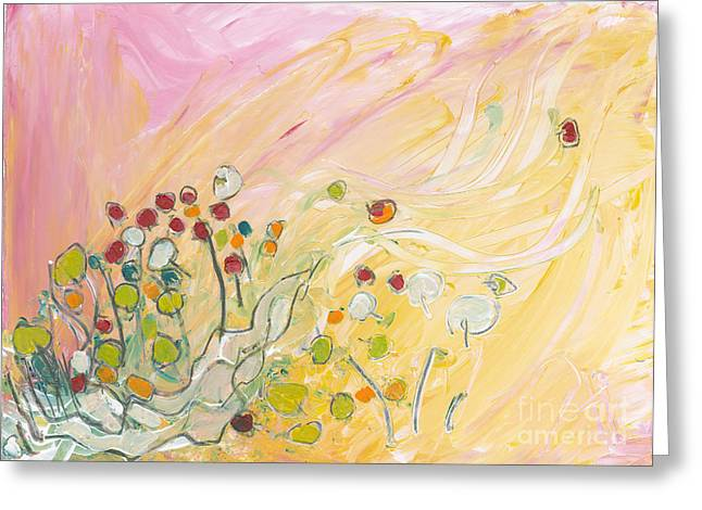Early Summer Winds Greeting Card by Christine Alfery