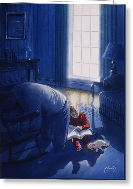 Early Will I Seek Thee Greeting Card by Cliff Hawley