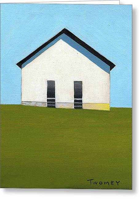 Earlysville Baptist Church Greeting Card by Catherine Twomey