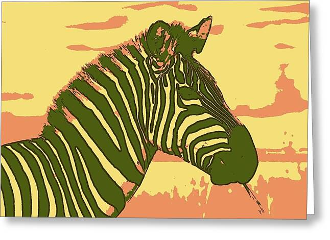 Earned Stripes Greeting Card
