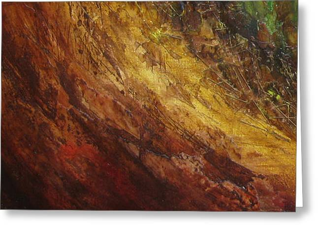 Earth A Greeting Card by Pure Abstract