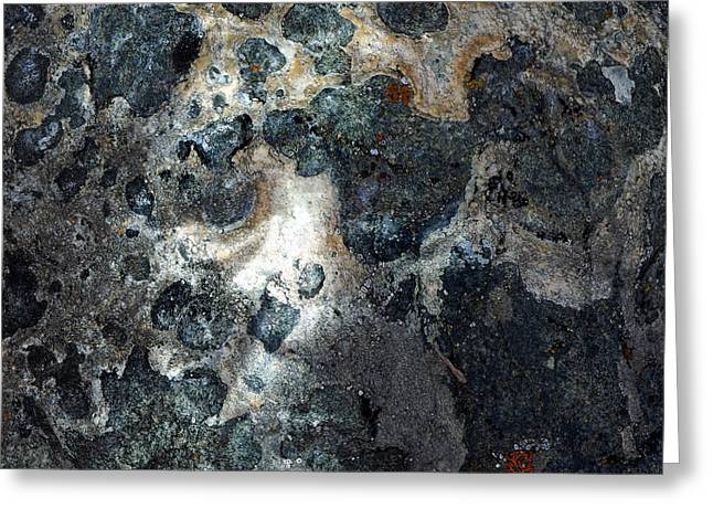 Greeting Card featuring the photograph Earth Memories - Stone # 8 by Ed Hall