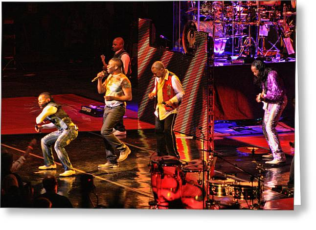 Costa Mesa Greeting Cards - Earth Wind and Fire Greeting Card by Tommy Anderson