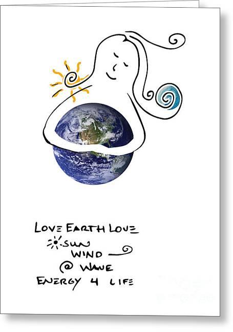 Earthhugger Greeting Card