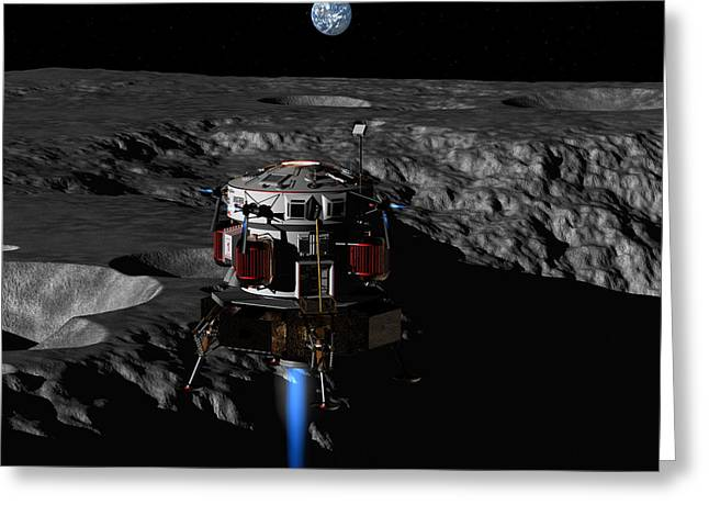 Earthrise Greeting Card