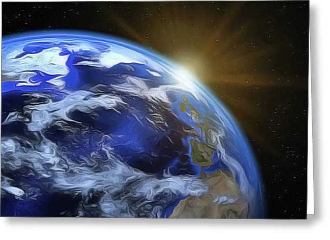 Earthview Greeting Card