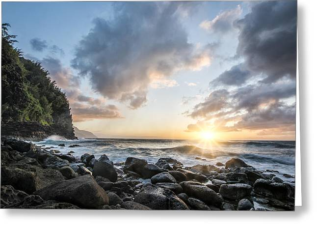 Ease In My Eyes Greeting Card by Jon Glaser