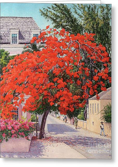 East And Shirley Street Greeting Card