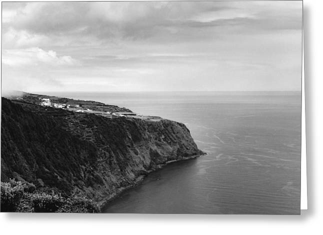 East Coast - Sao Miguel-azores Greeting Card by Henry Krauzyk