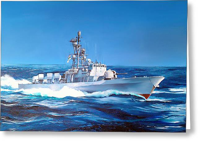 Greeting Card featuring the painting East Coast Days by Tim Johnson