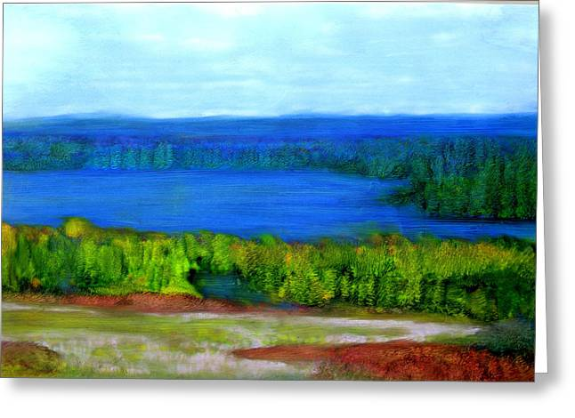 East Grand Lake Maine Greeting Card