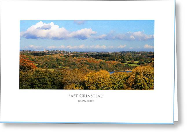 East Grinstead Greeting Card