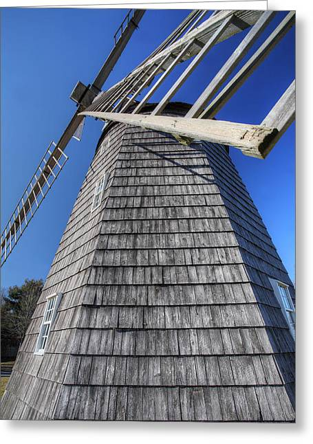 East Hampton Windmill Greeting Card
