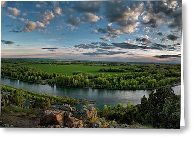 East Idaho View Greeting Card by Leland D Howard