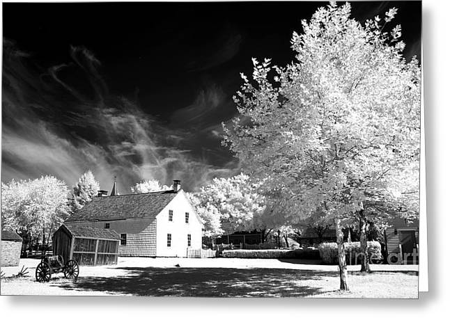 East Jersey Olde Towne Village Greeting Card by John Rizzuto
