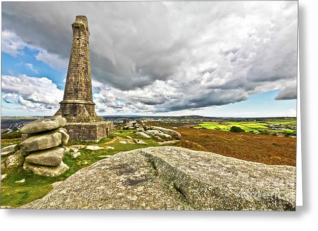 East Of Carn Brea Greeting Card