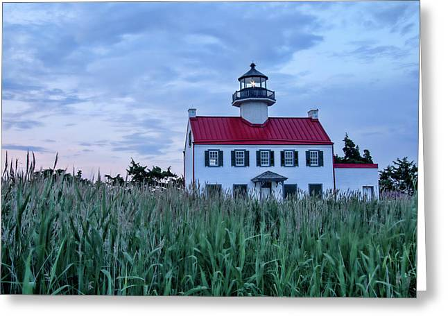 East Point At Twilight Greeting Card
