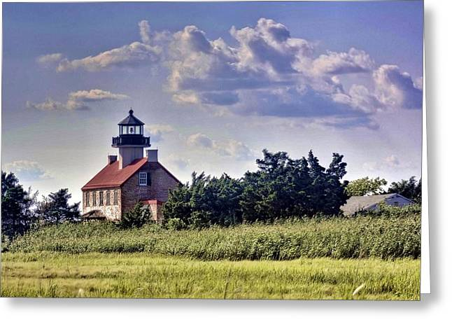 East Point Light House Greeting Card by Kevin  Sherf